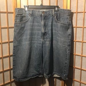 Men's Levi's 569 Loose Straight Jean Shorts.